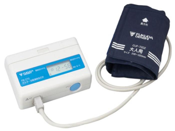 24時間自動連続血圧計 FB-270(ホルター血圧計)